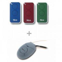 Nice INTI Kit Harici Alıcı Ve 3 Kumanda Seti